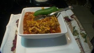 How to make Texas Chili