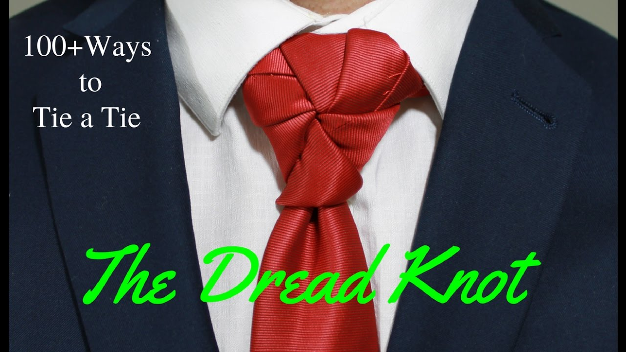 How to tie a tie dread knot youtube ccuart Image collections