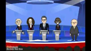 GOP Candidates Debate Barack Obama