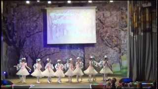'Детский танец' из балета 'Коппелия'. Фестиваль 'Красота, мода, музыка 2013'