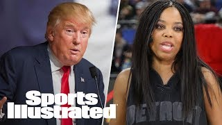 President Trump Rips ESPN Ratings, Comments On Jemele Hill | SI Wire | Sports Illustrated