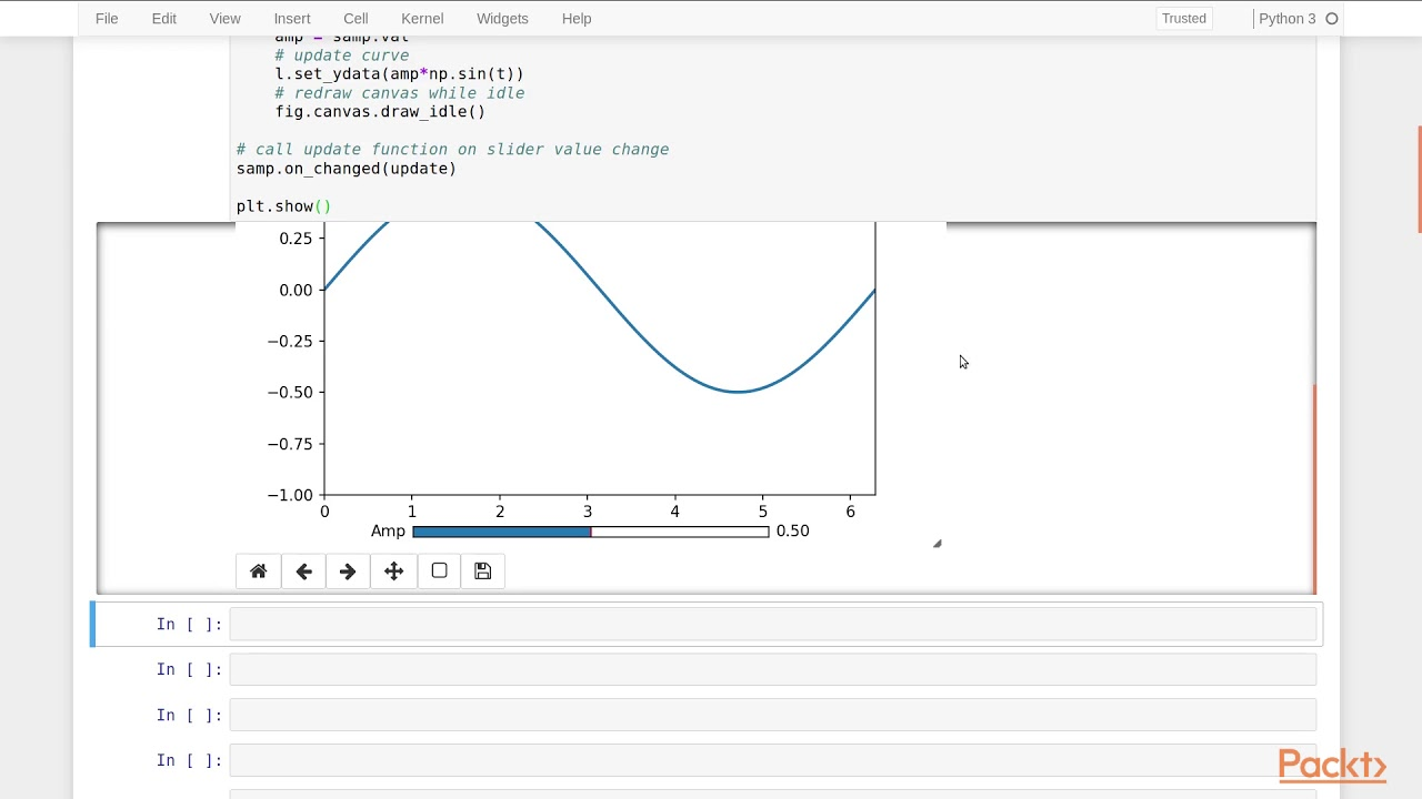 Mastering Matplotlib 3 : Creating Interactive Plots   packtpub com