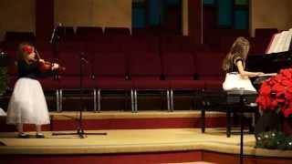 Christina Joy (4) & Annette (7) play