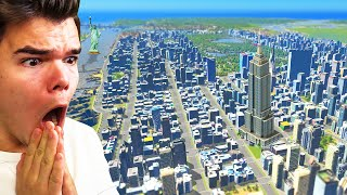 Building A MEGA City In Cities Skylines!