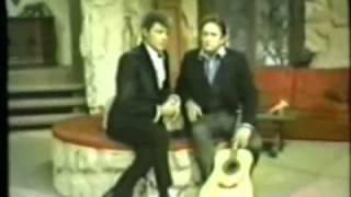 Dale Robertson; Johnny Cash - The Wayward Wind