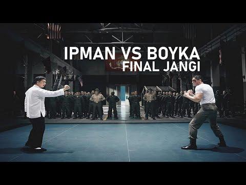 IPMAN va BOYKA Jangi Final  | IPMAN 4 uzbek tilida (FULL HD)