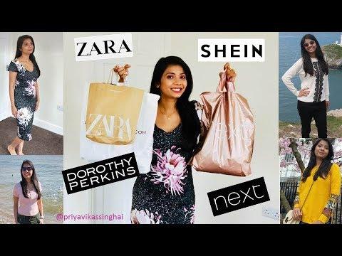 CLOTHING TRY ON HAUL 2019 - Shein, ZARA, Next, Dorothy Perkins, Matalan   Affordable & Trendy