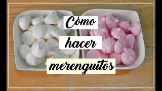 merenguitos caseros suspiros de merengue