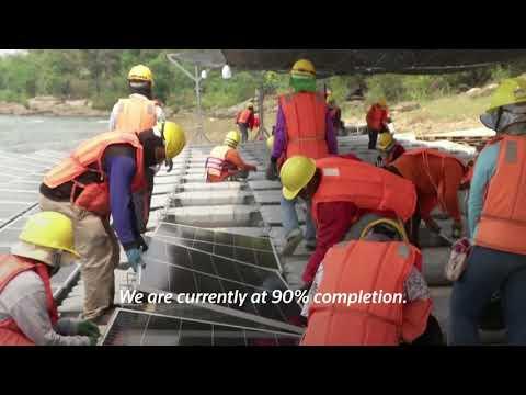 Thailand builds massive floating hydro-solar farm
