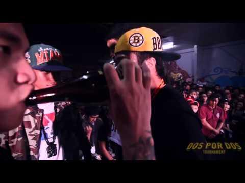 FlipTop - Melchrist/Papew vs Juan Lazy/Harlem @ Dos Por Dos Tournament