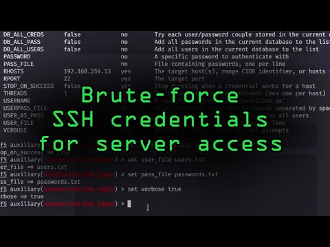 How Hackers Could Brute-Force SSH Credentials To Gain Access To Servers