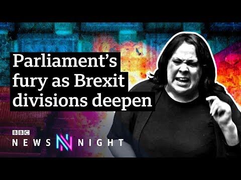 Is divisive language in Parliament polarising the Brexit debate? – BBC Newsnight