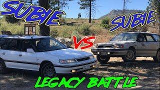 Subaru Legacy Battle 1993 VS 1991 | In Depth Car Comparison