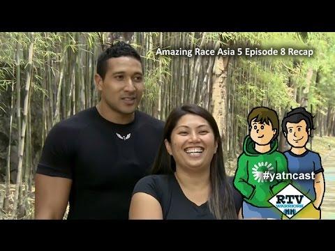 Amazing Race Asia 5 Episode 8 Recap #AXNTARA #yatncast #rtvwarriors