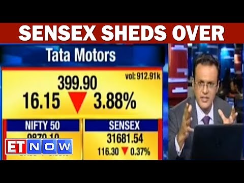 Sensex Sheds Over 100 Pts; Nifty Below 9,900; Tata Motors, ONGC Top Losers