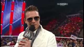 The Miz & Chris Jericho Comeback RAW 30 June 2014