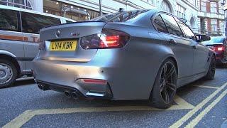 Matte grey BMW M3 F80 - Redline REVS !!