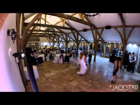 Wedding DJ timelapse at Swancar Farm Nottingham 2016