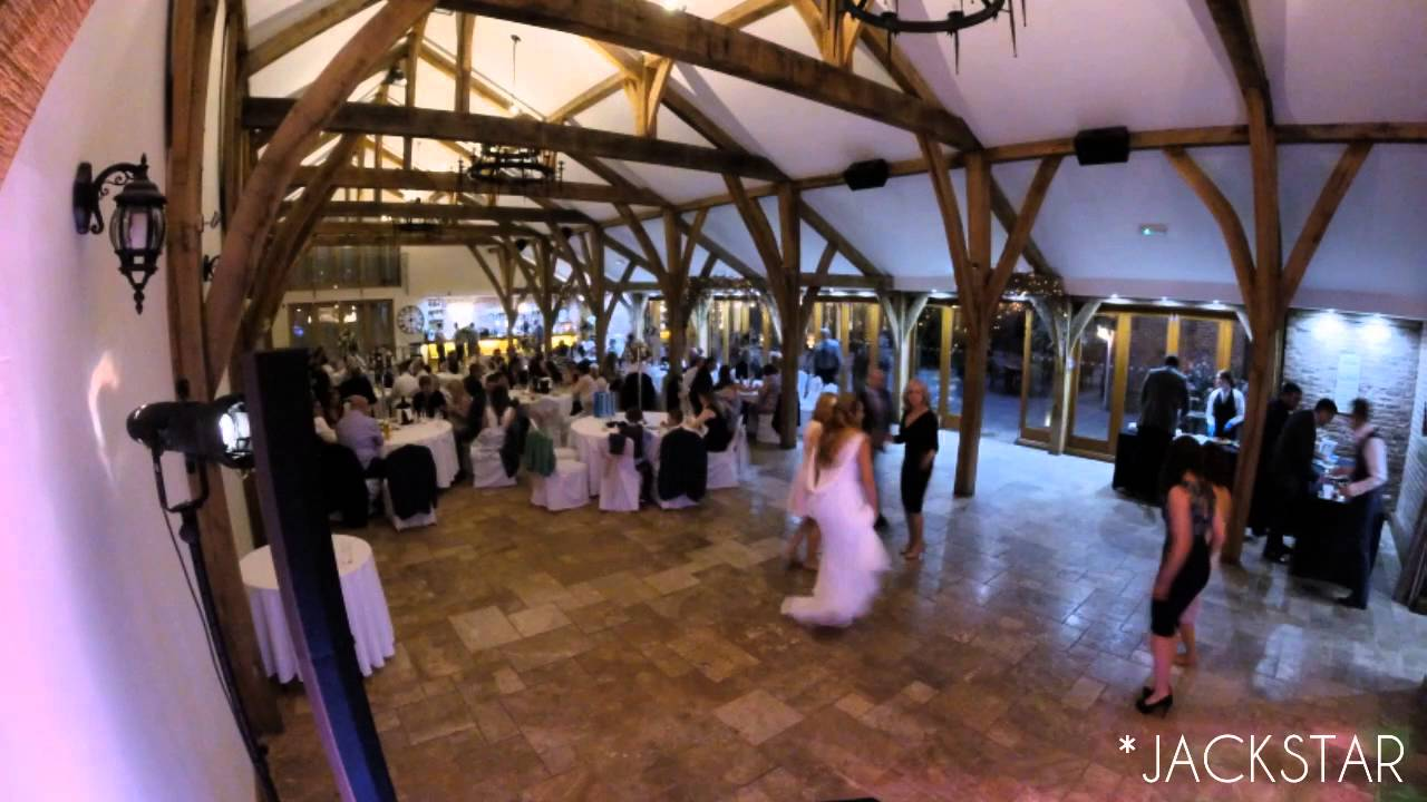 Wedding Dj Timelapse At Swancar Farm Nottingham 2016 Youtube