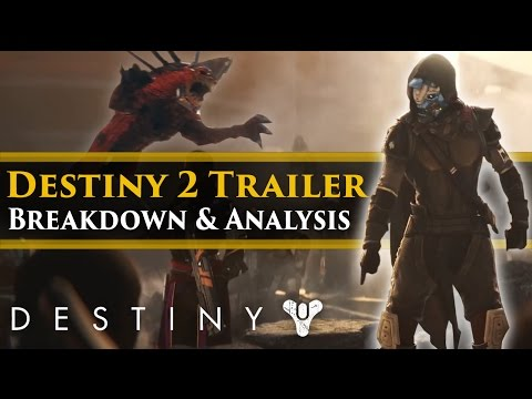 "Destiny 2 - ""Rally The Troops"" Trailer Breakdown & Analysis! New enemies! Cabal Hounds!"