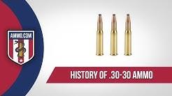 30-30 Ammo - History