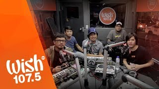 Pedicab performs Soul Riot LIVE on Wish 107.5 Bus