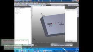 Урок 12.FeatureCam - электроэррозионная обработка в 4-х осях