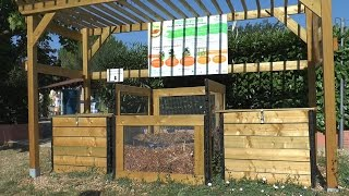 Compost collectif au camping