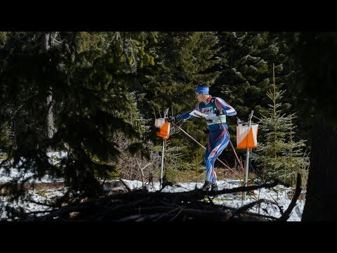 European Ski Orienteering Championships 2018. Middle distance