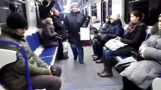 Актриса в Харьковском метро. Вручите ей ОСКАР и отправьте на пенсию