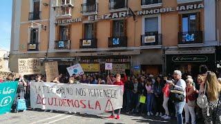 Concentración en Pamplona para reclamar medidas contra el cambio climático