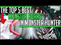 The Top 5 Best Monster Roars In All Of Monster Hunter History! (Lore/Iceborne/Fun) #mhw #top5 #best