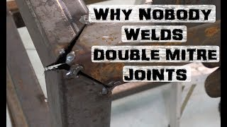 Double Miter Joint | Dumb Welding Trick