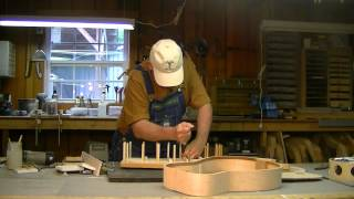 Beard Resonator Guirtar Kit Construction-Part 5-Back Glueup-Gary Clardy