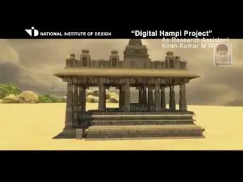 National Institute of Design  Digital Hampi 3D Project