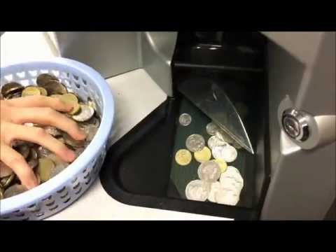 Bendigo Bank Forrestfield Coin Counting Machine