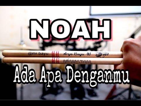 Noah/Peterpan - Ada Apa Denganmu ( Drum Cover )
