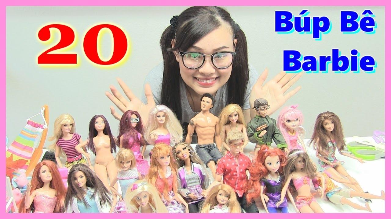 Xem Bộ Sưu Tập Búp Bê Barbie Có Khớp Cực Dễ Thương-  ĐỒ CHƠI TRẺ EM – ĐỒ CHƠI MỸ