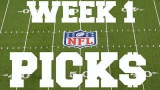 My NFL Week 1 picks for the 2016 season