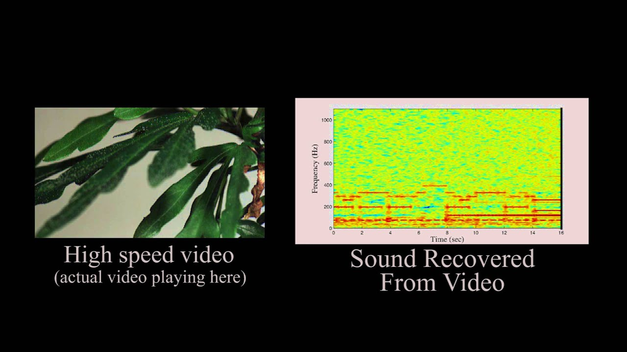 Extracting audio from visual information | MIT News