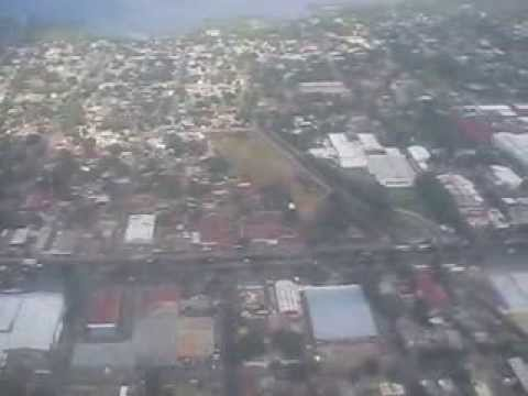 MANAGUA, ATERRIZAJE EN EL AEROPUERTO INTERNACIONAL AUGUSTO CESAR SANDINO