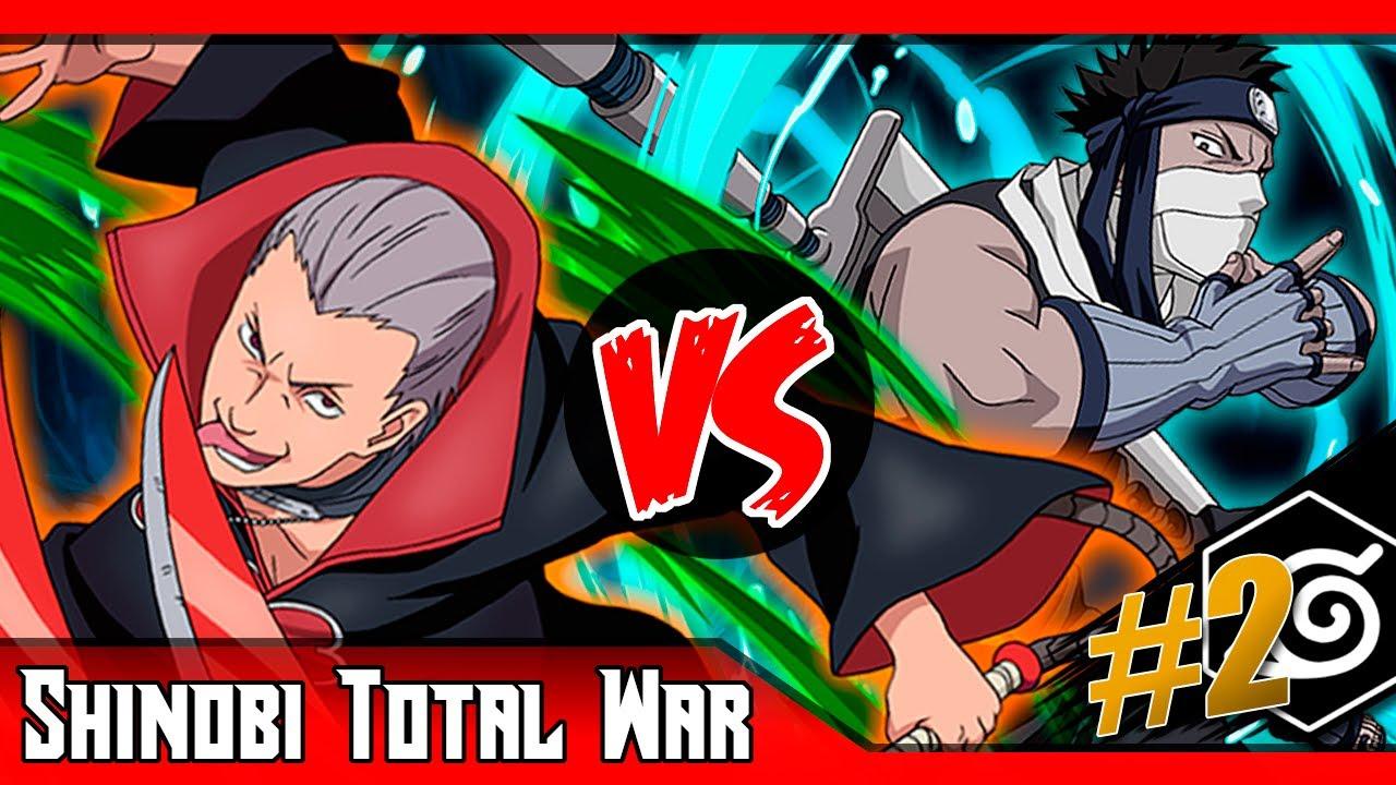 Zabuza VS Hidan | ¿Quién ganaría? | SHINOBI TOTAL WAR ... Zabuza Vs Hidan