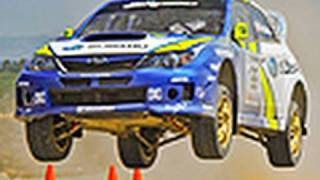 Travis Pastrana and his X-Games Subaru WRX