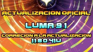 [ACTUALIZACION] LUMA 9.1-SOLUCION A LA ACTUALIZACION 11.8 (NINTENDO 3DS)