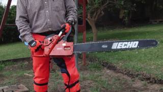 echo cs 8002 chain saw