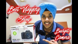 Best Budget Vlogging Camera for Youtube in 2018 | CANON 200D | CANON SL2 | Unboxing