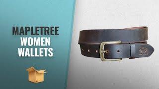 Top 10 Mapletree Women Wallets [2018 Best Sellers]: Mapletree Casual Leather Belt For Men
