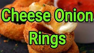 Cheese Onion Rings | Onion Rings | Cheese Rings | Foodie's Hub