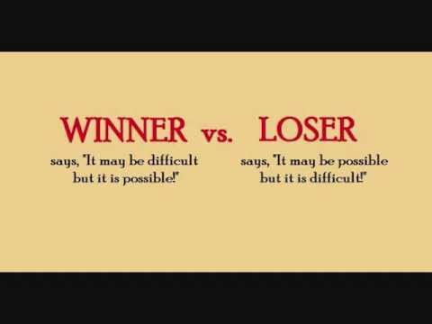 Winner Vs Loser Youtube