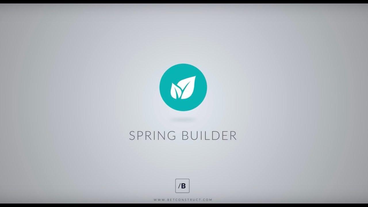 SpringBuilder   Gaming and Betting Website Builder